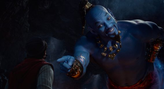 Will Smith isn't a singer, but he's a super charming Genie in enjoyable new Aladdin