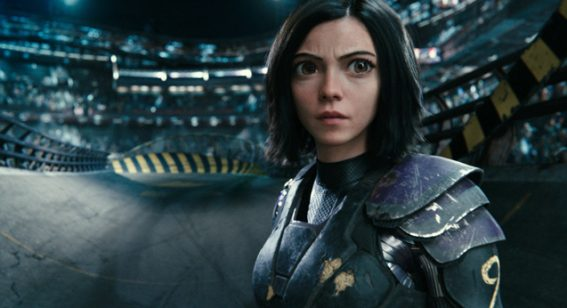 Alita: Battle Angel is an action-packed spectacle about what it means to be human
