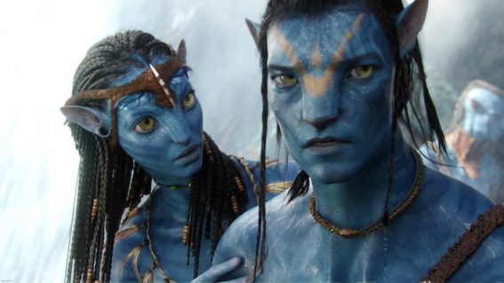 James Cameron shares a set photo from the first of four Avatar sequels
