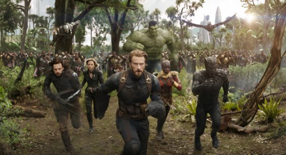 Avengers: Infinity War led the Australian box office in 2018