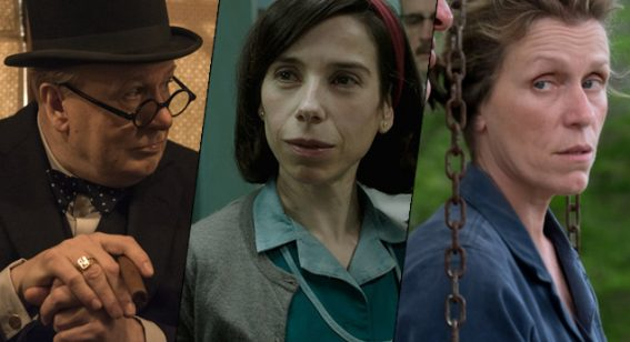 BAFTA 2018 Nominations – 'Darkest Hour', '3 Billboards' & 'Shape of Water' Reign