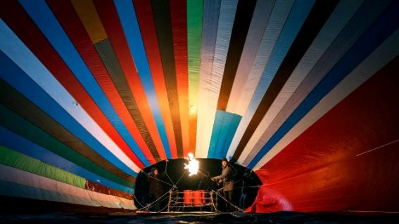 A film about a daring balloon escape will open the German Film Festival