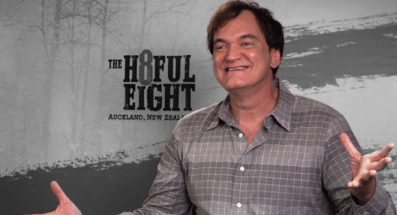 Watch: Quentin Tarantino Talks Auckland, The Politics of Hateful Eight and Jackie Brown