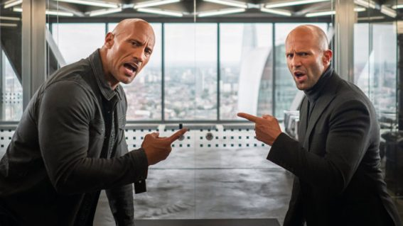 Hobbs and Shaw topped the Aotearoa box office over the weekend