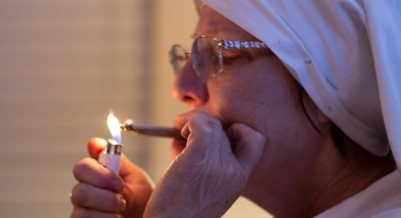 Film about a weed-dealing nun opens on the same week as Avengers: Endgame