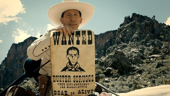 Netflix film The Ballad of Buster Scruggs is a divine tasting board for all things Coen brothers