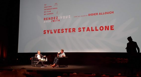 """The failures make you smarter""—Sylvester Stallone makes a warm, atypical appearance at Cannes"