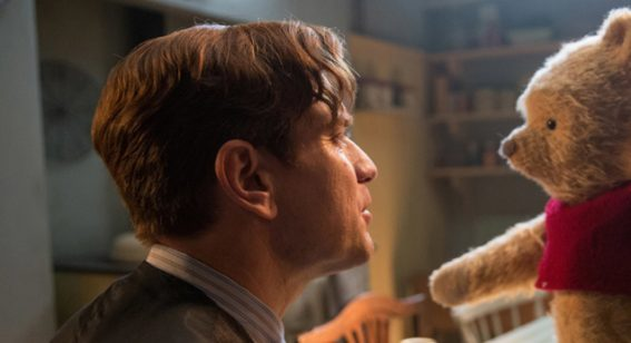 Ewan McGregor does admirably in Disney's warm hearted  Christopher Robin
