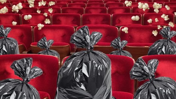 Dealing with cinema's waste problem (without giving up delicious popcorn)