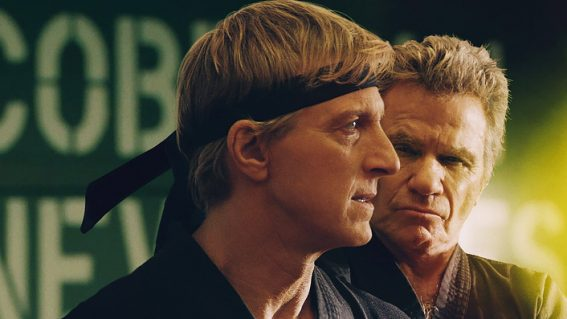 Cobra Kai cleverly flips the script, making us empathise with the bad guy