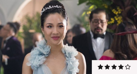 Crazy Rich Asians is zingy, glossy, entertaining rom-com escapism