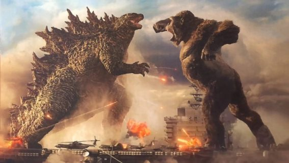 The epic stoush between Godzilla and Kong arrives in cinemas this week