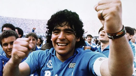 Diego Maradona is a fascinating portrait of the retired soccer superstar