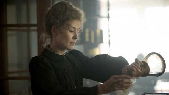 Check out the trailer and Australian release date for Marie Curie biopic Radioactive
