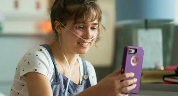 Haley Lu Richardson recalls early Rachel McAdams in teen romance Five Feet Apart