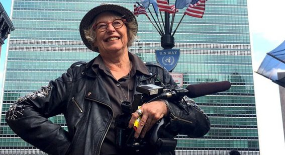 """Gaylene Preston's advice to women working in film: """"go and get a gang"""""""