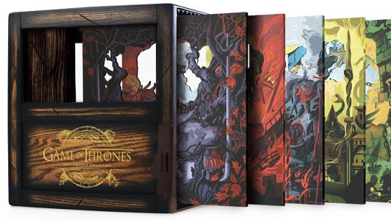 Jingle all the way to Westeros this Christmas with the Game of Thrones box-set