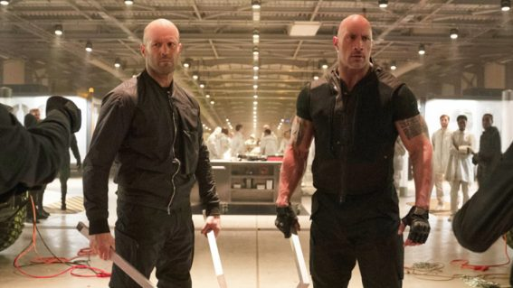 Australian weekly box office: Hobbs & Shaw wins fast and furiously