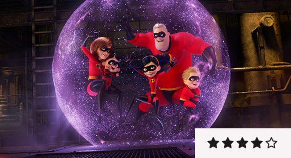 Incredibles 2 review: breathtakingly kinetic and visually smashing
