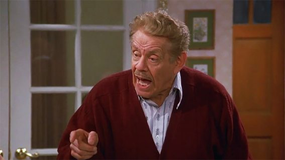 An ode to the greatness of Jerry Stiller, who passed away this week