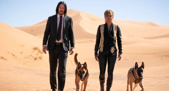 Keanu Reeves & Halle Berry's tell us about their rib-breaking dedication to John Wick 3