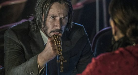 The body count goes through the roof in the bloody and ornate John Wick 3
