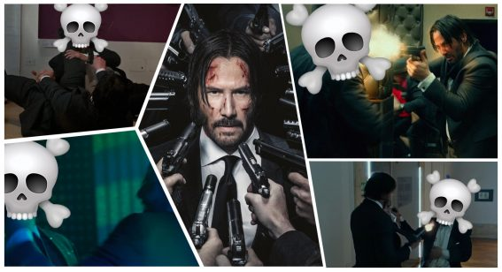 Counting down John Wick's 20 most brutal onscreen moments