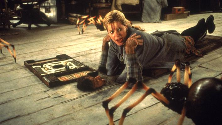 1995's Jumanji spider scene