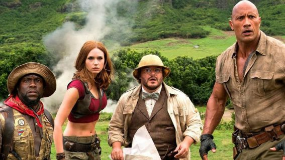Australian weekly box office: Jumanji slays Star Wars and takes to spot