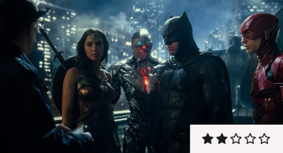 Review: 'Justice League' is a Colossal, Garish Shambles