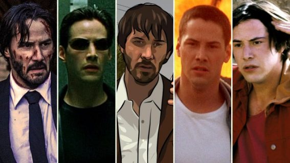 From surfboarding bank robbers to computer simulations: here are Keanu Reeves' best roles