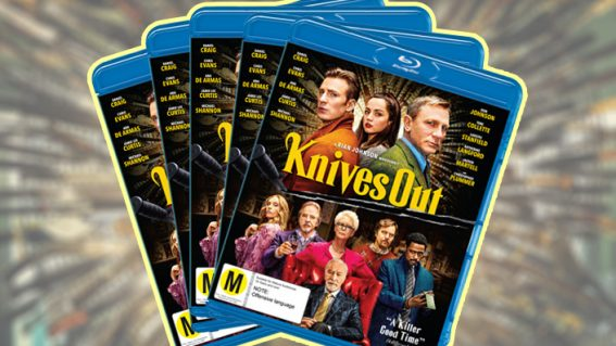 Win a copy of last year's hit whodunnit Knives Out