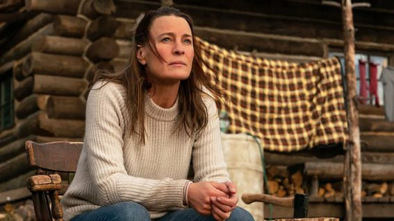 Robin Wright goes off the grid and into heavy-handed cliché in directorial debut Land