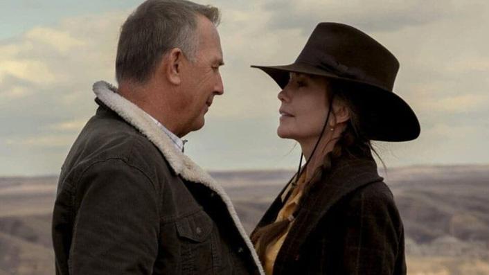 Kevin Costner and Diane Lane in Let Him Go