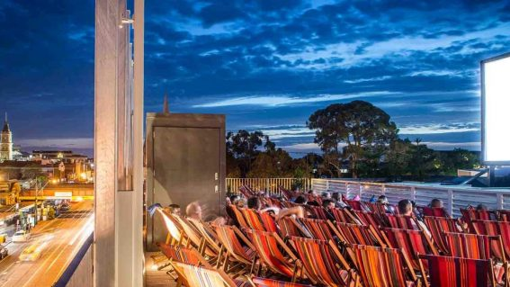 Shout it from the rooftops—Melbourne's open air cinemas are back from October 22