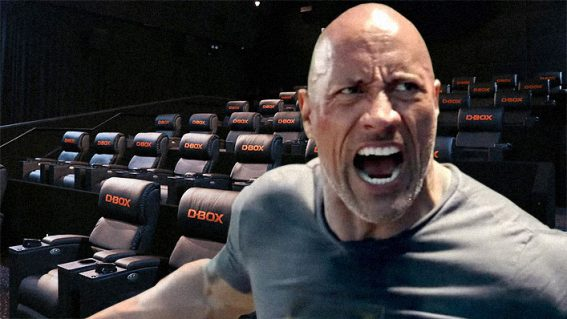 I watched Hobbs & Shaw while an 'immersive' seat vibrated my butt. This is my story