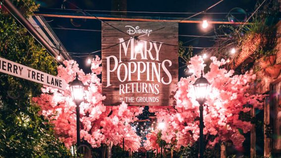 The Grounds of Alexandria has been transformed into a Mary Poppins-themed wonderland