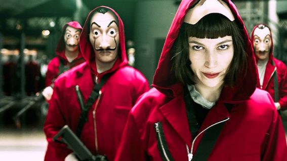 What makes Money Heist such a hugely addictive Netflix crime show