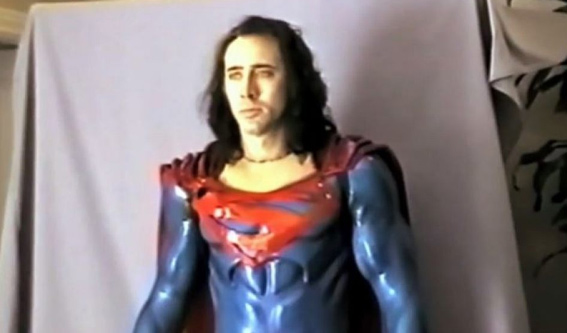 See the Story of the Tim Burton-Nic Cage 'Superman' Film That Almost Happened