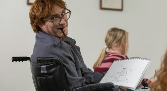 Joaquin Phoenix immerses himself in Don't Worry, He Won't Get Far on Foot