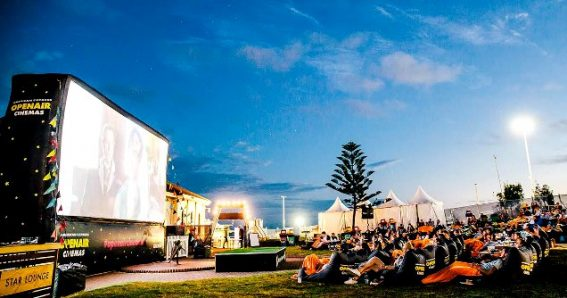 Watch a film under the stars at Openair Cinemas
