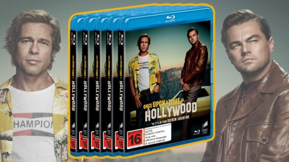 Win Once Upon a Time in Hollywood on Blu-ray