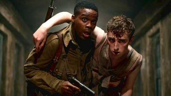 The Nazi zombie film Overlord is a gloriously gory B movie pastiche