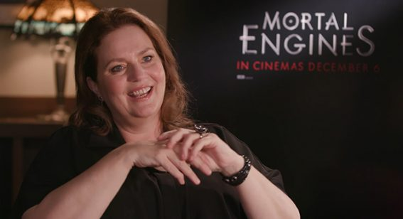 WATCH: Mortal Engines writer Philippa Boyens on adapting the book to screen
