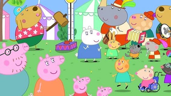 Peppa Pig: Festival of Fun brings the beloved large-nosed swine to the big screen