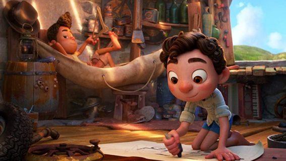 Pixar's hugely charming Luca is a super fun summer hangout film