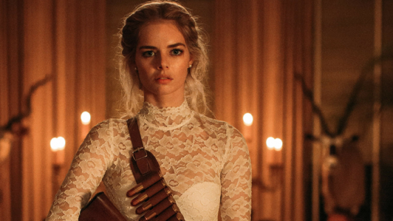 From Summer Bay to indie thrillers, Samara Weaving is Australia's own scream queen