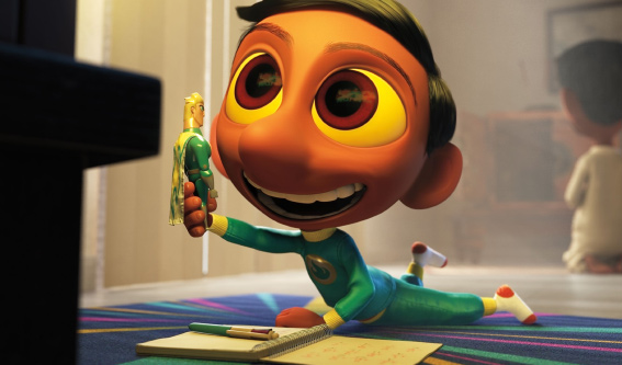 Check Out This Clip for Pixar's Hindi Superhero Short 'Sanjay's Super Team'