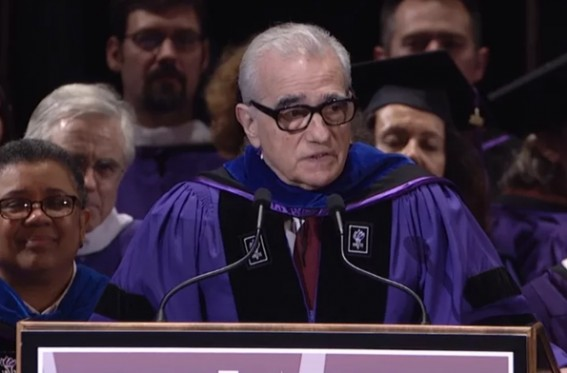 Here's a great speech from the great Martin Scorsese