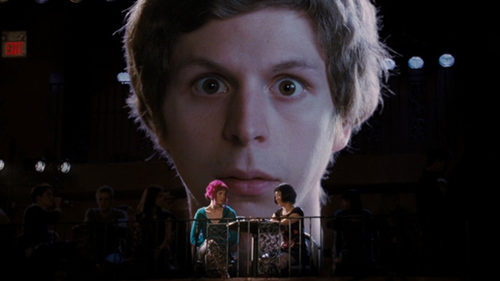 Michael Sera in Scott Pilgrim vs the World